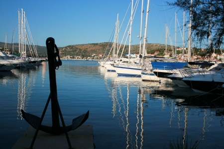 port, Rogoznica, Croatia photo