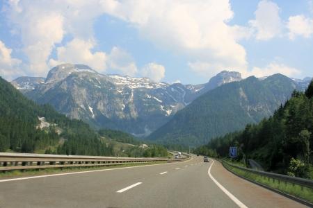 highway in Austria 版權商用圖片