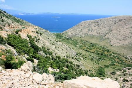 krk: nice view on the island Krk