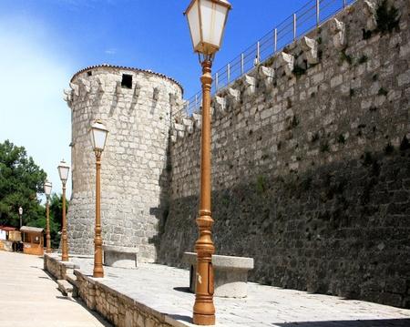 krk: fortress in Krk, Croatia Stock Photo