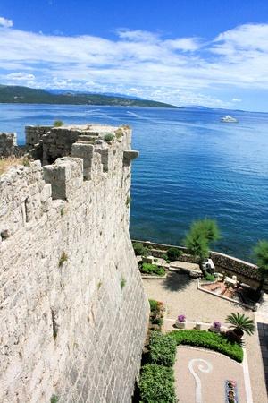 krk: fortress Krk, Croatia