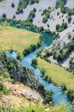 Krupa river, Croatia photo