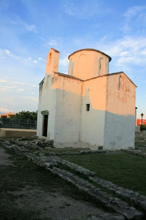 chapel in Nin, Croatia photo