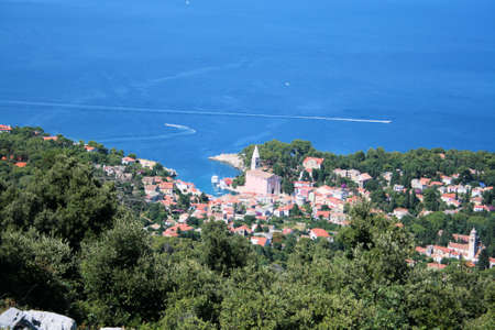 vieuw on Veli Losinj, Croatia photo