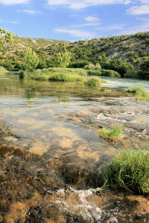 Zrmanja river, Croatia photo