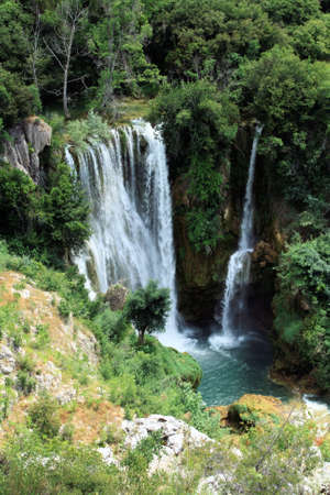 Krka National Park, Croatia, Manojlovac waterfall photo