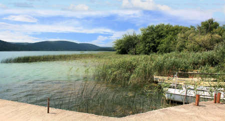 Lake Vransko Jezero, Zadar region, Croatia photo