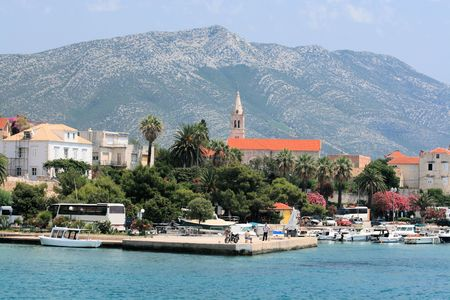 Orebic, Peljesac, Croatia photo
