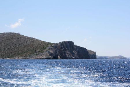 kornati national park: national park Kornati, Croatia