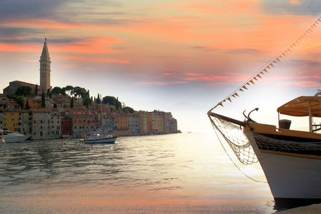 Rovinj in Croatia photo