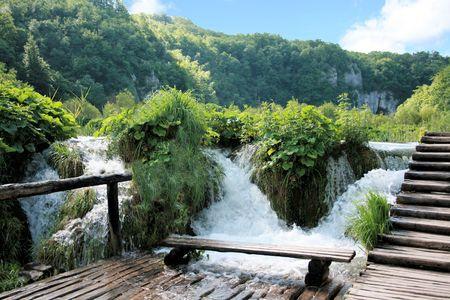 Plitvice Lakes National Park, Croatia photo