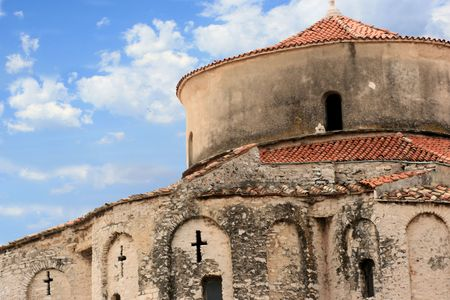 Church in Zadar, Croatia photo