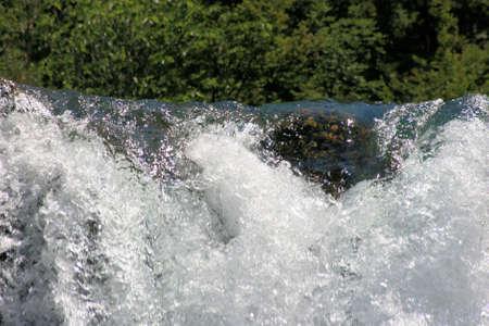 waterfall of Krupa river, Croatia photo