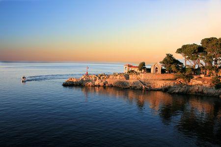 view in Veli Losinj, Croatia photo