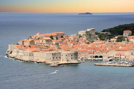 view in Dubrovnik, Croatia photo