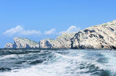 kornati: vista nel parco nazionale di Kornati, Croazia