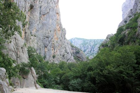paklenica: view in national park Paklenica, Croatia