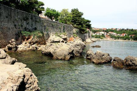krk: Port of Krk, Croatia