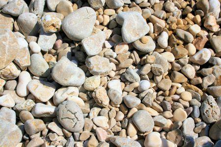 pebble beach: close up of a pebble beach