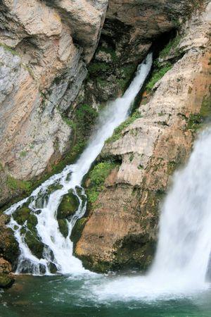 bohinj: Savica waterfall Slovenia, near Bohinj, Bled