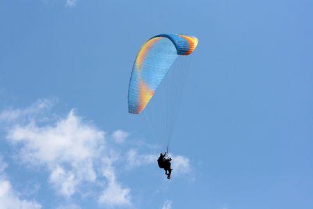 karawanks: duo paragliding
