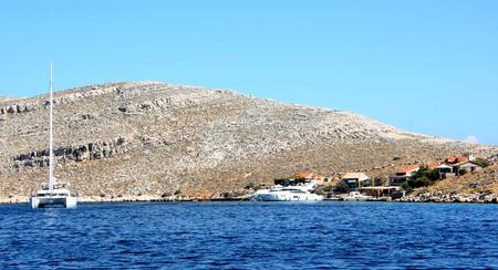 np: sailing in NP Kornati, Croatia