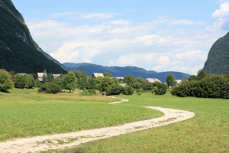 near lake Bohinj, Slovenia
