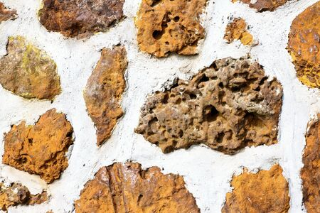 streamlet: stones of castle wall