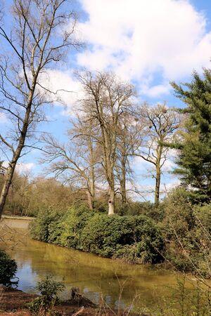 streamlet: mikhof park, Brasschaat, Belgium
