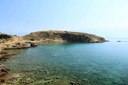 View in Lopar, island of Krk, Croatia
