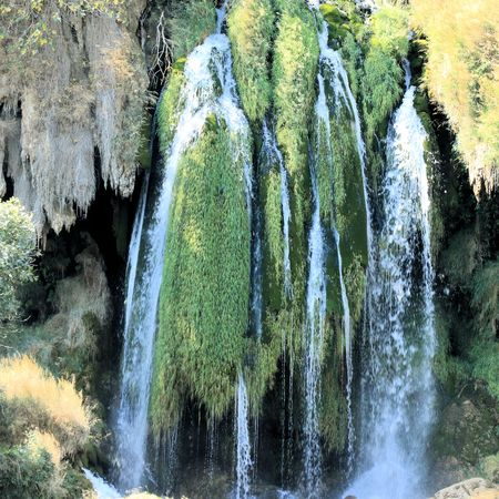 res: Waterfall in Kravica National Park, Bosnia and Herzegovina