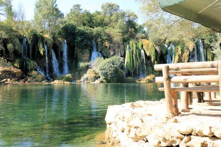 res: Kravica waterfalls, Bosnia and Herzegovina