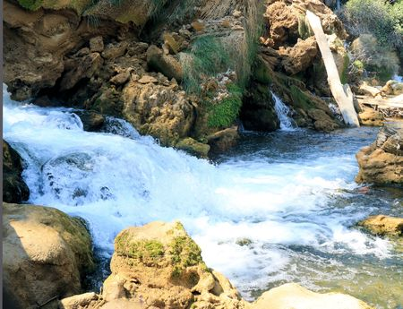 res: rapids in nature park Kravica falls, Bosnia and Herzegovina Stock Photo