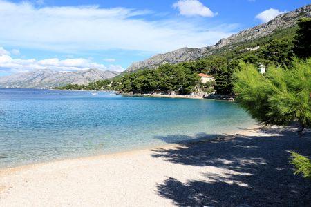 View in Baska Voda, Croatia