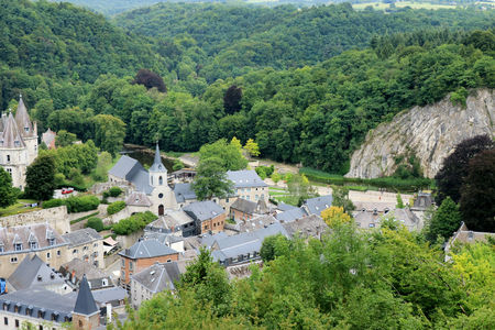 view on Durbuy Stock Photo