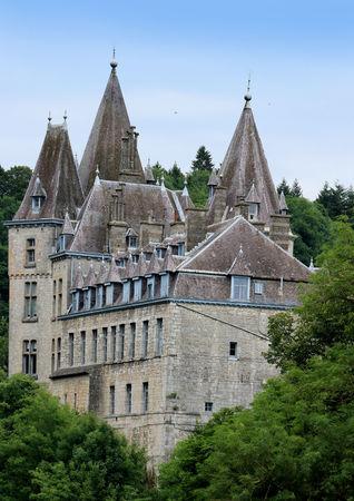 castle in Durbuy, Belgium