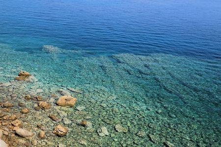 view near Lopar on the island Rab, Croatia 版權商用圖片