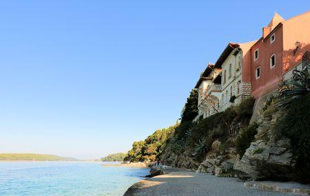 the old town of Rab, Croatia