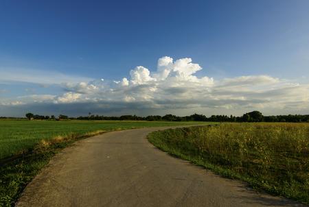curve road: Sharp curve road