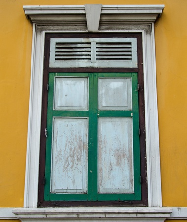 old window Stock Photo - 10534429