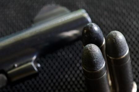 spacial: .38 spacial Pistol bullets and gun