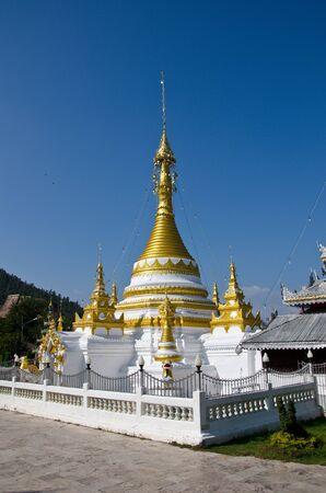 wat jongklang,Maehongson,Thailand photo
