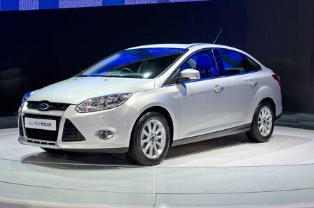 BANGKOK - April 4: Ford car on display at The 33th Bangkok International Motor Show on April 4, 2012 in Bangkok, Thailand.