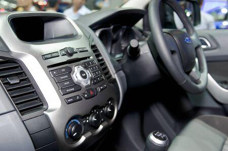 BANGKOK - April 4: Inside Ford car on display at The 33th Bangkok International Motor Show on April 4, 2012 in Bangkok, Thailand. Editorial