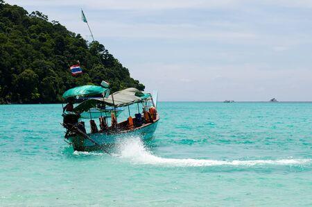 Surin island national park in Thailand