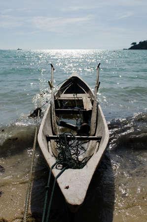 Morgan boat at Surin island national park in Thailand