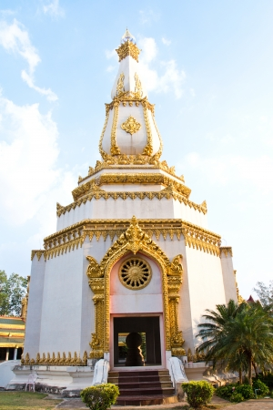 Temple Chai Mongkol is pagoda attractions in Roi Et. photo
