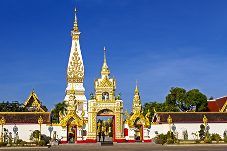 northeastern: Chedi  Phra That Phanom, at Nakorn Phanom province, northeastern of Thailand
