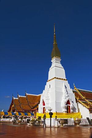northeastern: Chedi Pra That Choeng Chum Worawihal temple Sakon Nakhon Province , northeastern of Thailand