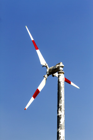natural energy: The turbine natural energy with wind at Bang Pu Seaside of Thailand